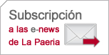 Subscripción a las e-news de La Paeria